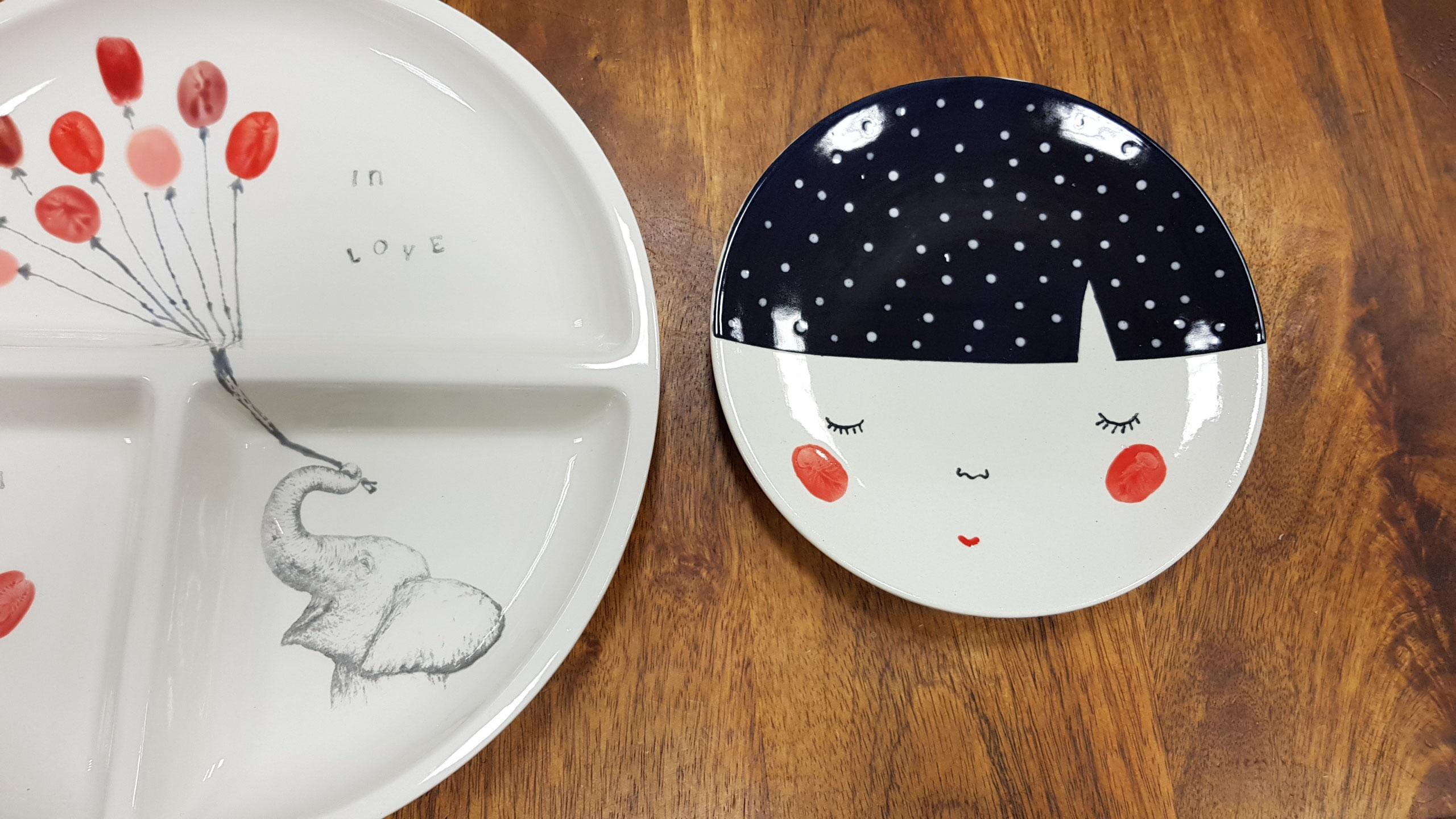 Ein Paar Schone Ideen Zum Keramik Bemalen Keramik Malerei Bei Artcuisine