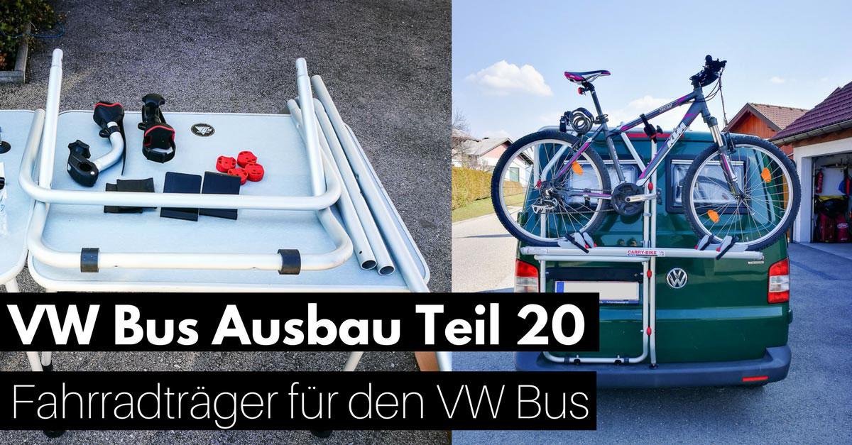 vw t5 ausbauguide fahrradtr ger am vw bus montieren. Black Bedroom Furniture Sets. Home Design Ideas