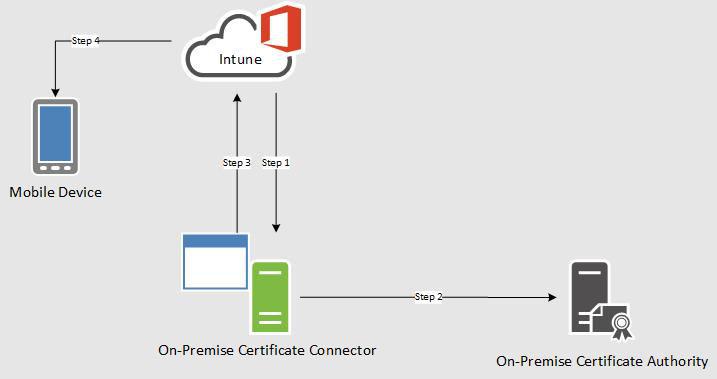 Erstellen und Bereitstellen von PFX-Zertifikatsprofilen in Microsoft