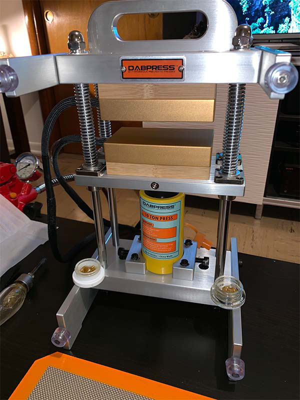 Dabpress 10 Ton Driptech Roisn Press Reviewed from the United States