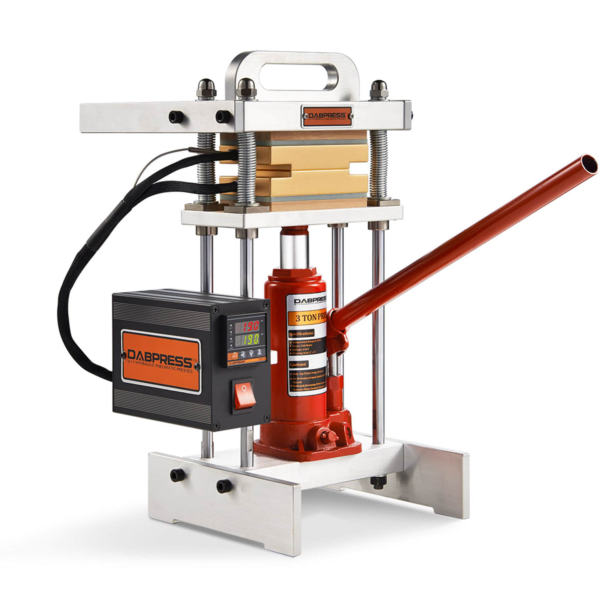 Dabpress Small Rosin Press dp-bj3t33 is the Best Cheap Rosin Press