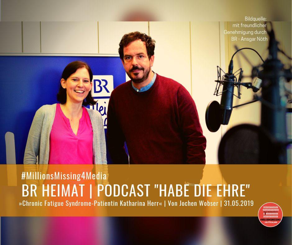 Chronic Fatigue Syndrome Patientin Katharina Herr Bei Habe Die Ehre Millionsmissing Deutschland
