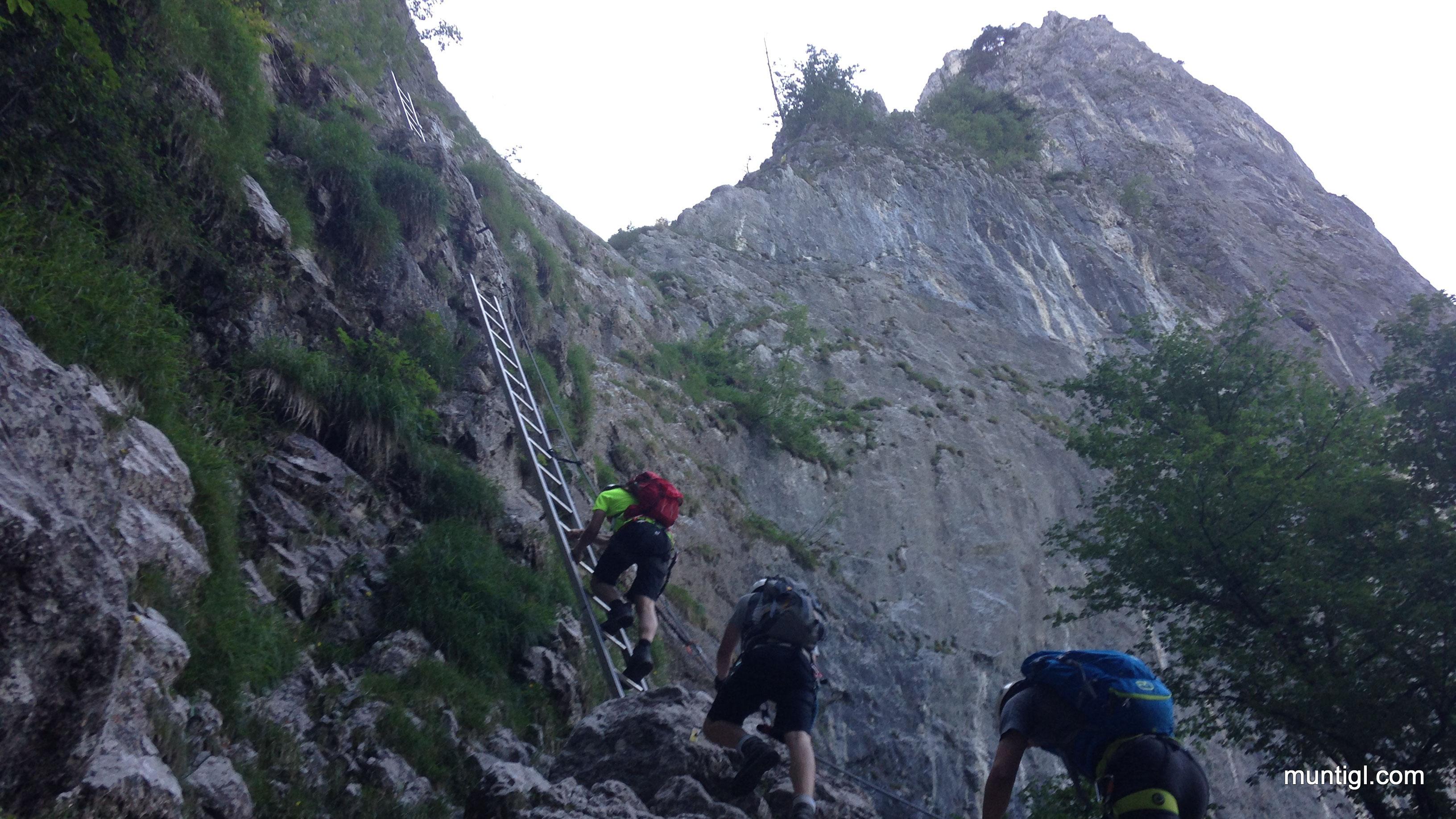 Klettersteig Drachenwand : Drachenwand klettersteig muntigl
