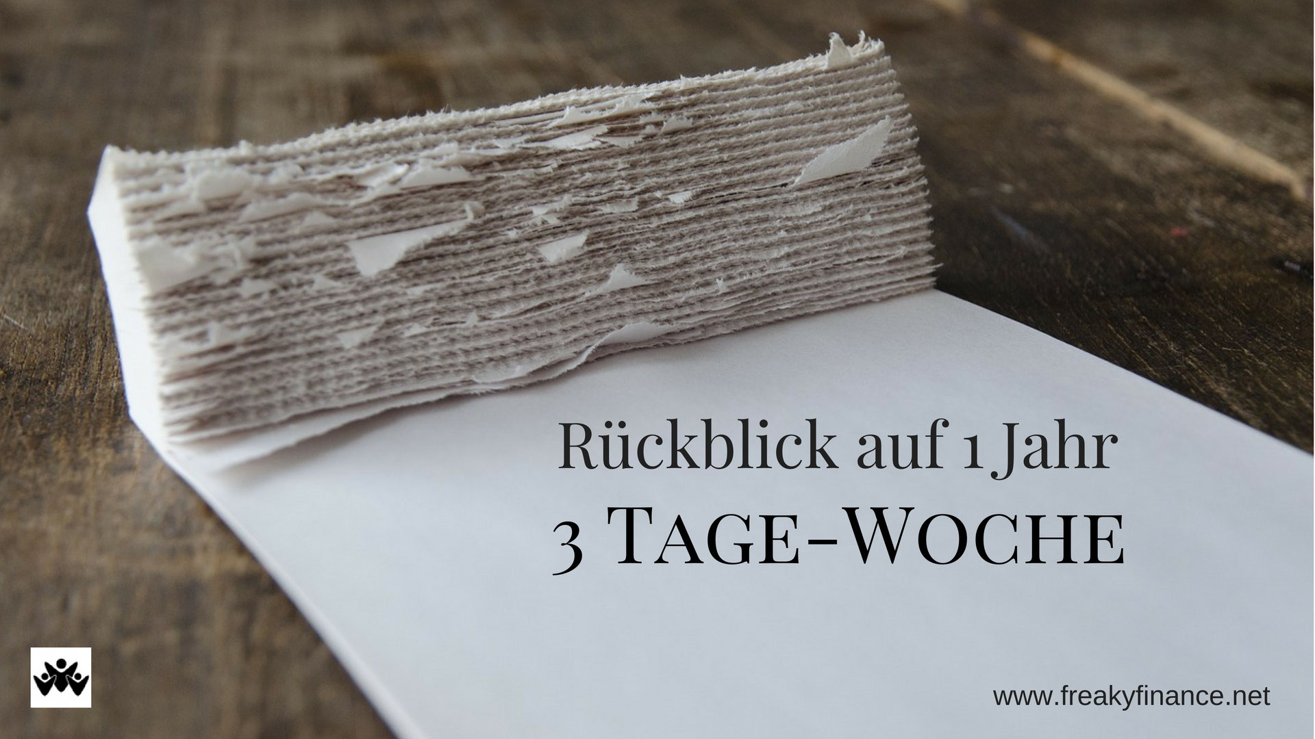 3 tage woche freaky finance selbstst ndiger for Koch 5 tage woche