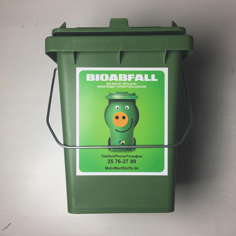 Bio-Mülli und Biotüte von der Hamburger Stadtreinigung - Zero