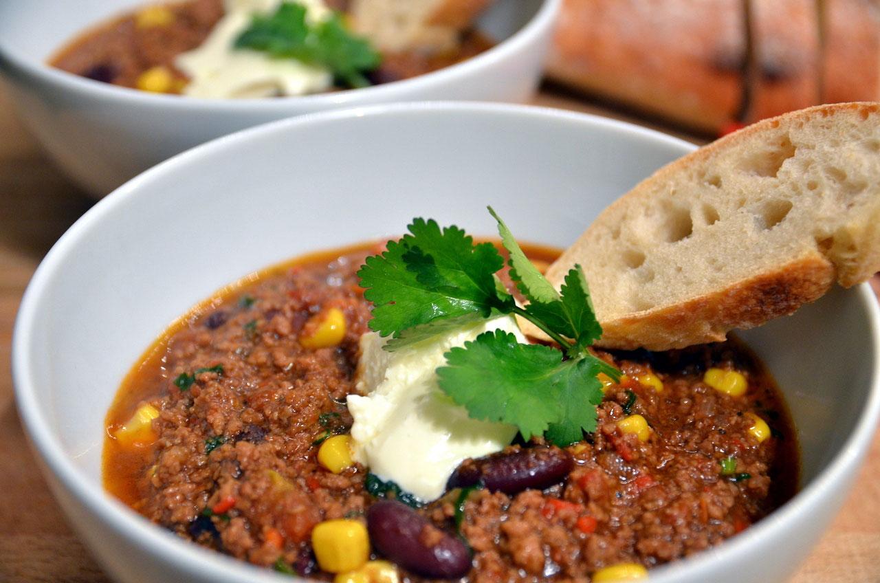 Chili Con Carne Rezept Mietkoch Und Kochevents Pour Le Plaisir