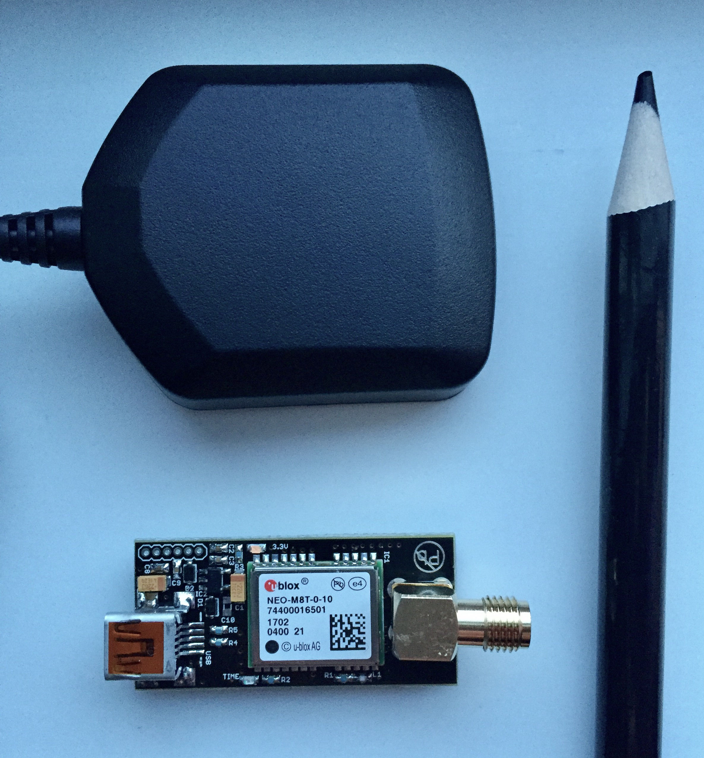 u-blox NEO-M8T, part I - BlackDot GNSS