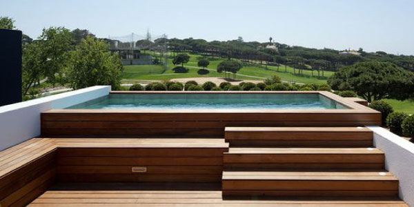 Thinking About Building A Rooftop Pool Pacheco Asociados Spanish Architects