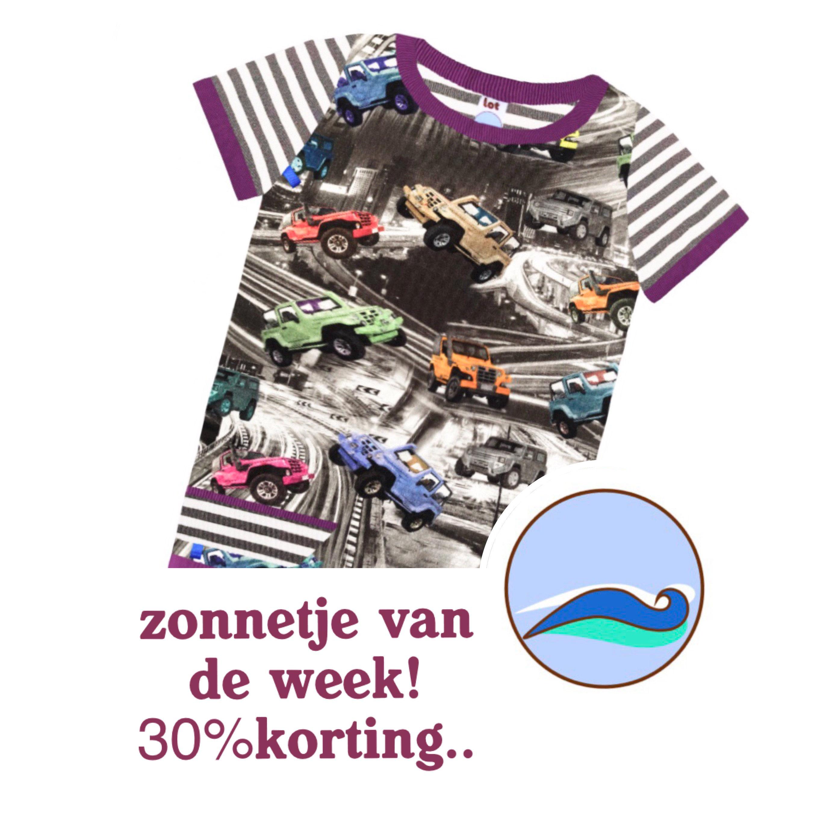 Zonnetje Van De Week Shirtjes Van Lot Kinderkleding Webshop