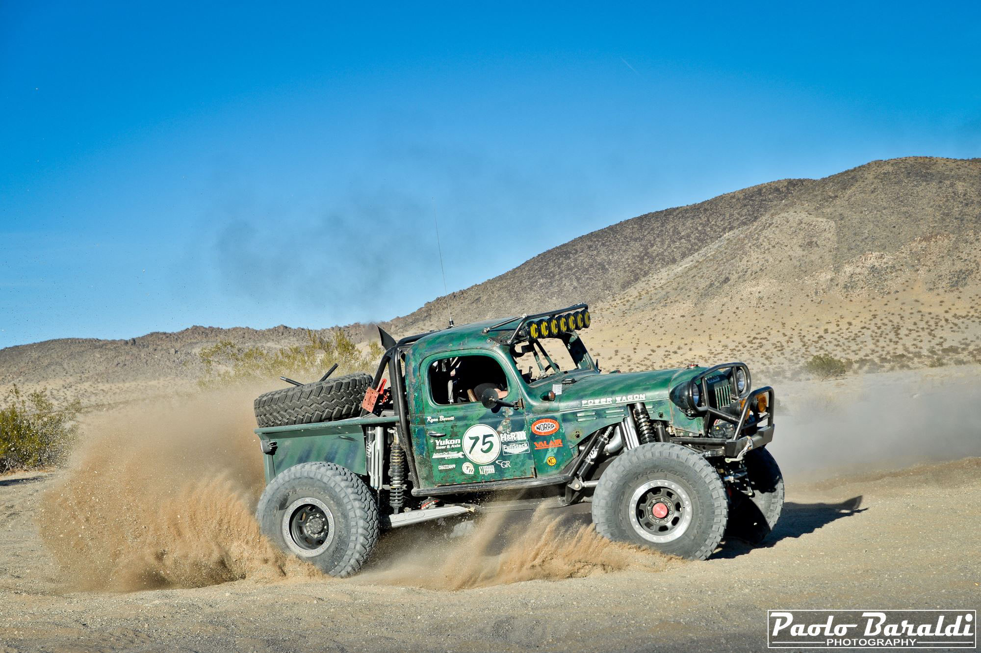 How A Power Wagon Became Race Tractor Offroad Lifestyle Web Magazine Dodge Front Axle