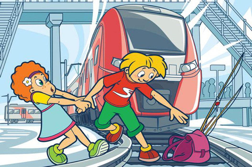 Открытка пазлы, картинки о железной дороге для детей