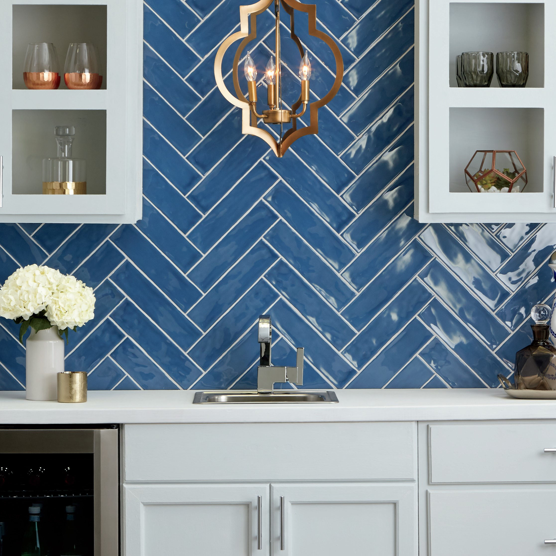 The 2020 Color Of The Year Classic Blue Tile Lines