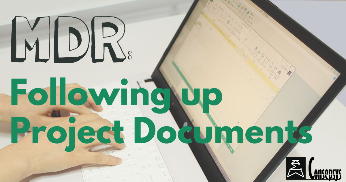 master deliverable register  mdr   following up project documents
