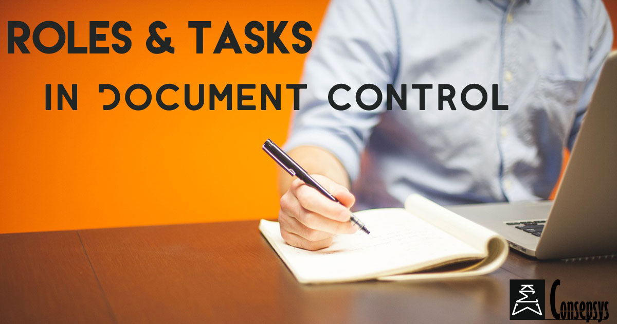 roles  u0026 job functions in document control