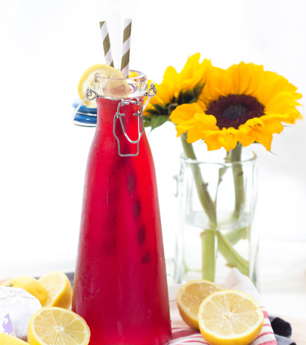 Sweet Passion Tea Lemonade - Homemade