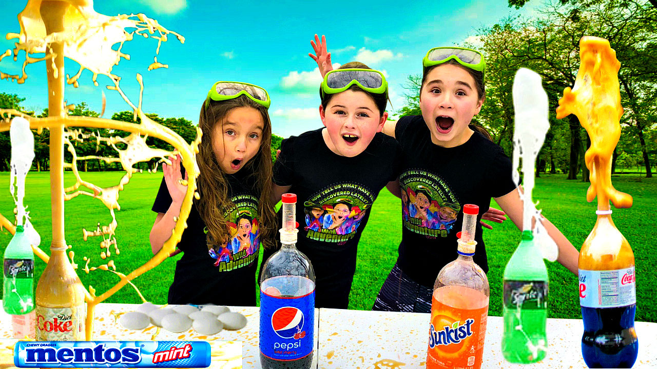 Mentos and Soda Experiment | Science for Kids |