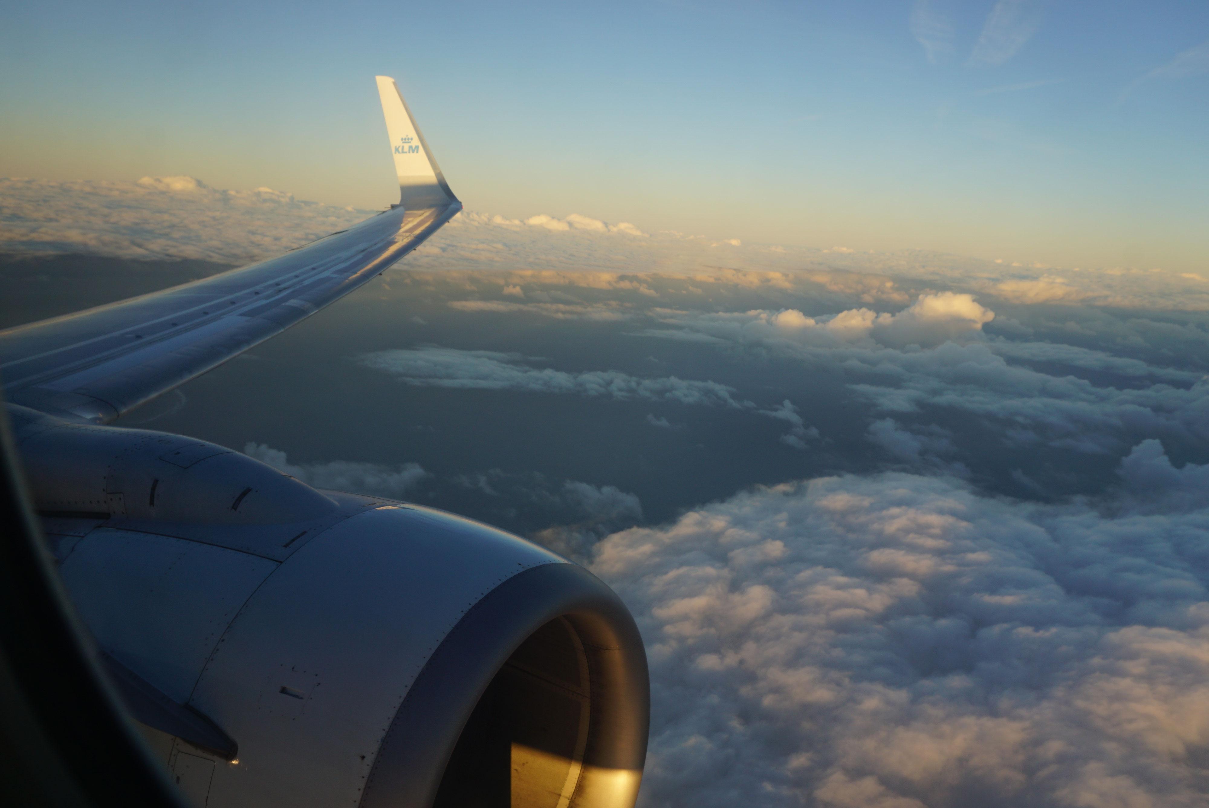 Ankunft Flug