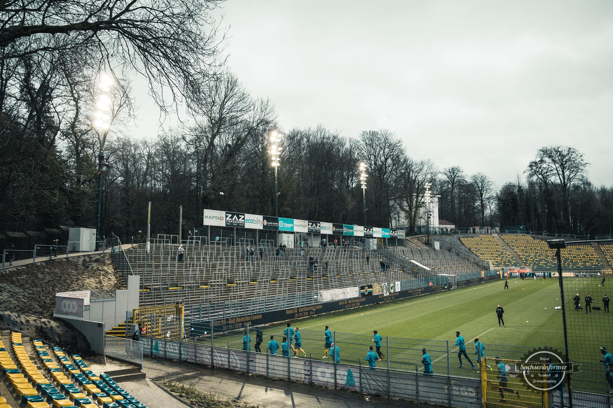 Royal Union St.Gilloise vs. KV Mechelen - Groundhopping Fotos