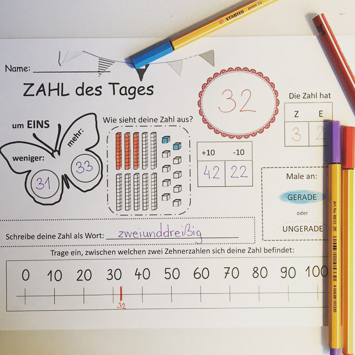 Groß Mathe Zahl Sinn Arbeitsblatt Zeitgenössisch - Mathematik ...