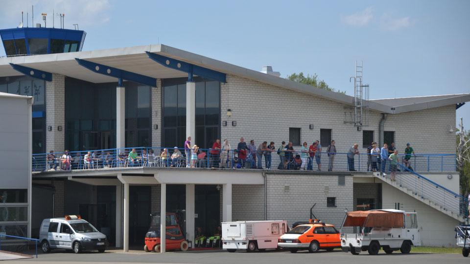 Flughafen Cochstedt Flüchtlinge