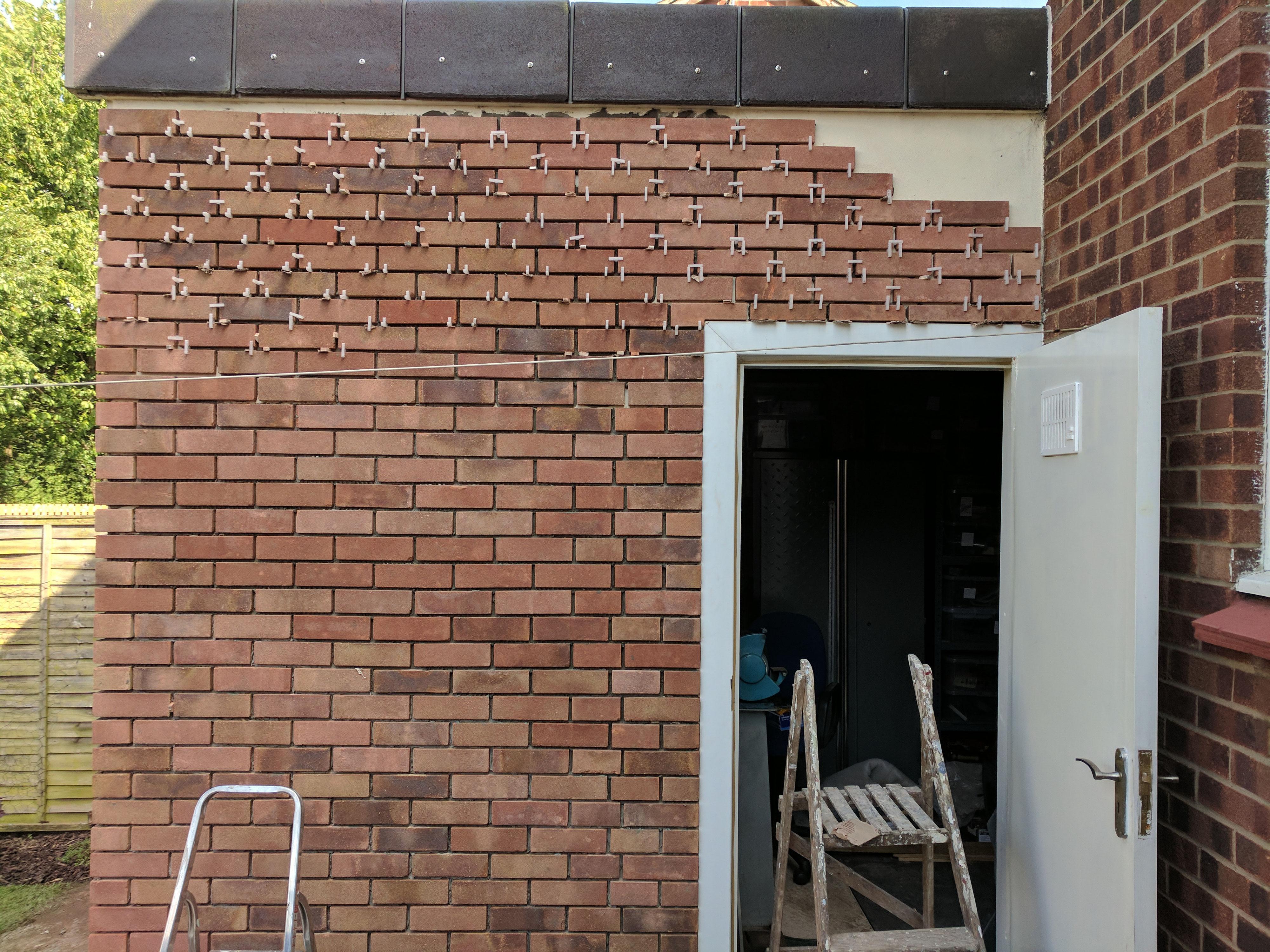 Retrofit Brick Cladding To Satisfy Building Control