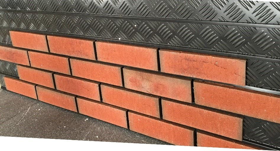 Tracking Panels Speed Installation Of Brick Slips Brick