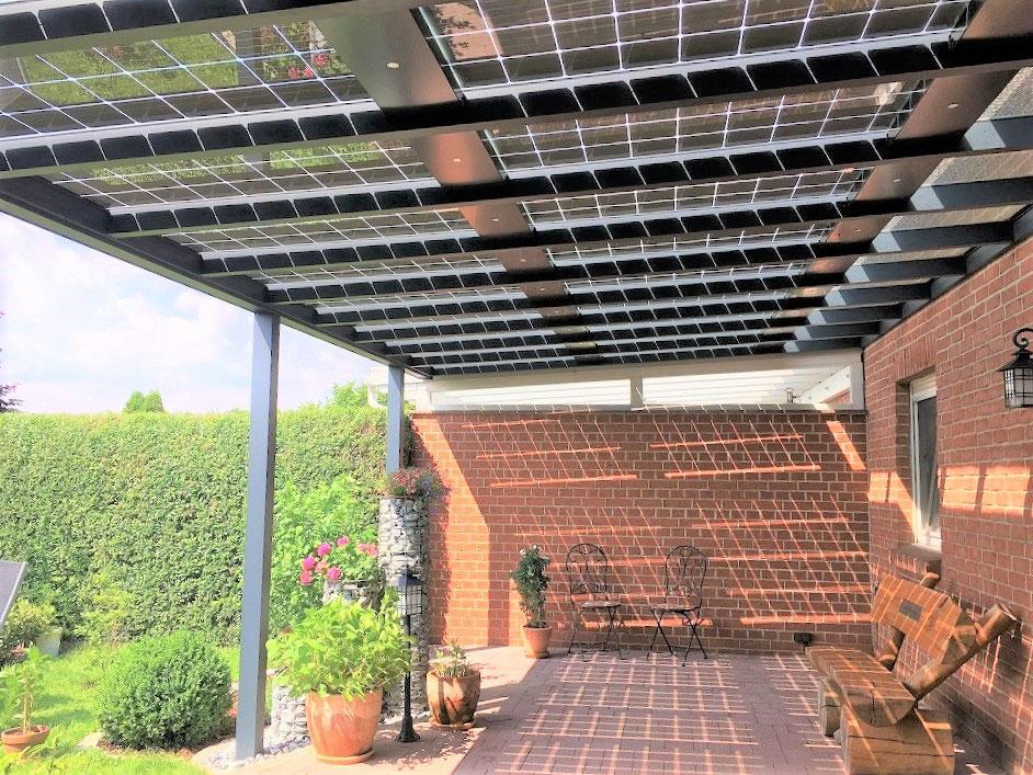 solarterrassendach von familie beerholdt bei cottbus. Black Bedroom Furniture Sets. Home Design Ideas