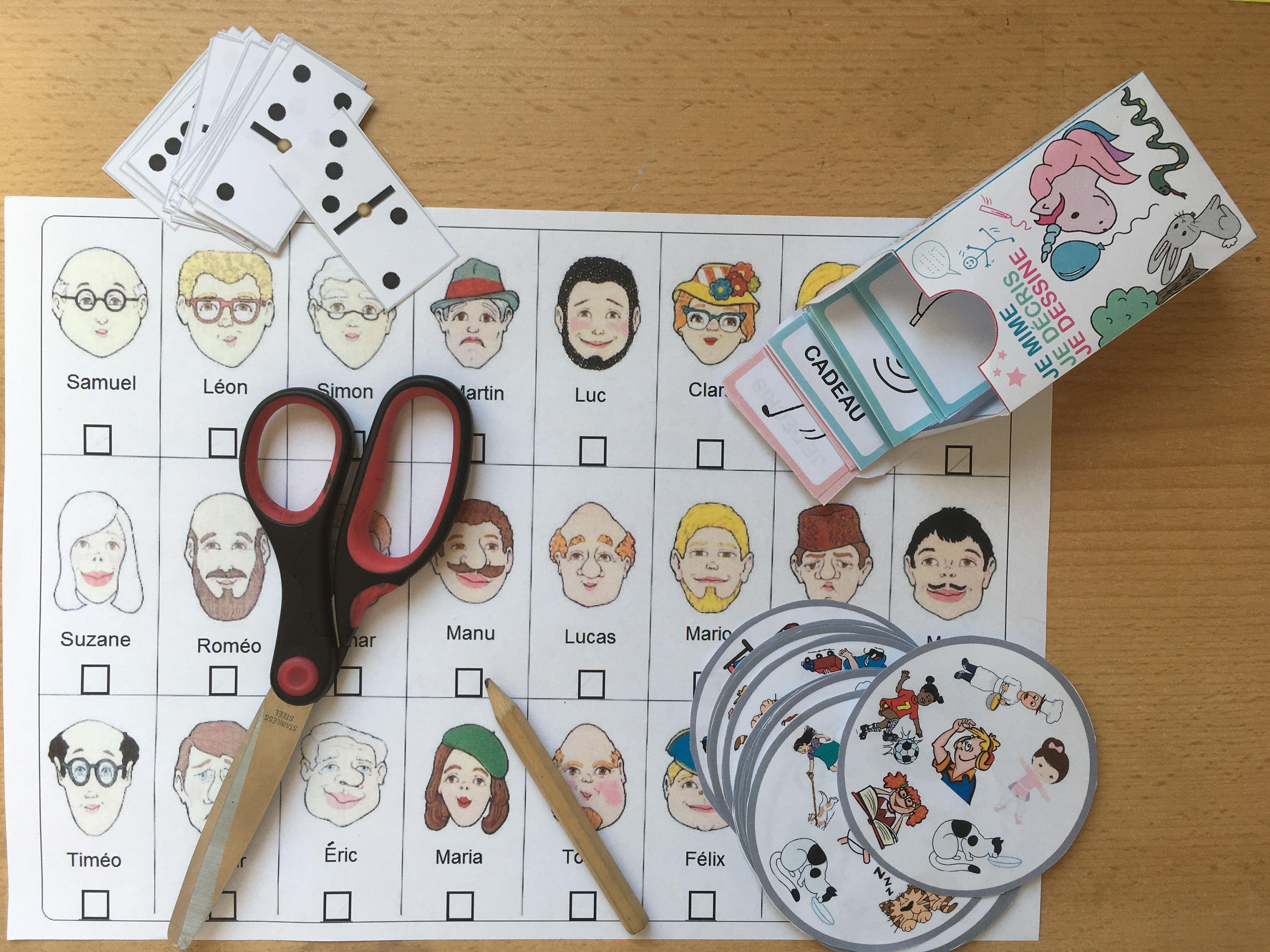 Petits Jeux A Imprimer Des Jeux Pour Apprendre Le Fle