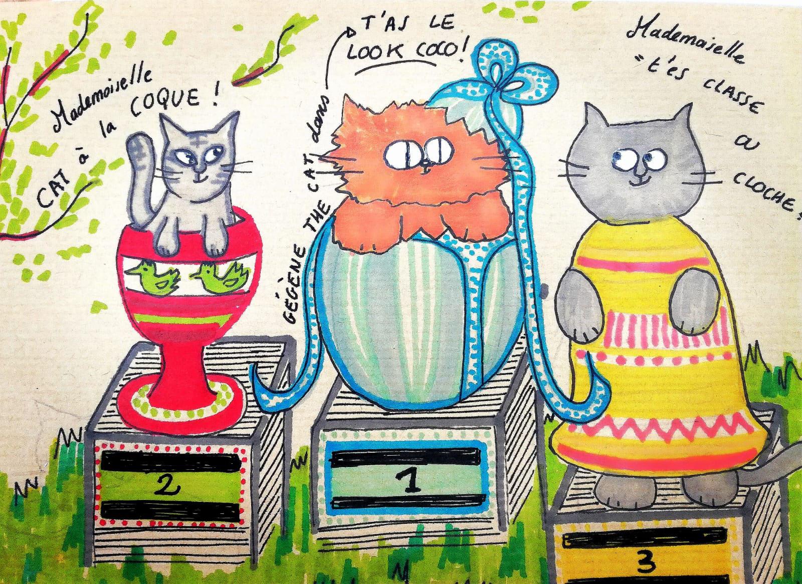 blog gegene the cat garde de chats paris. Black Bedroom Furniture Sets. Home Design Ideas