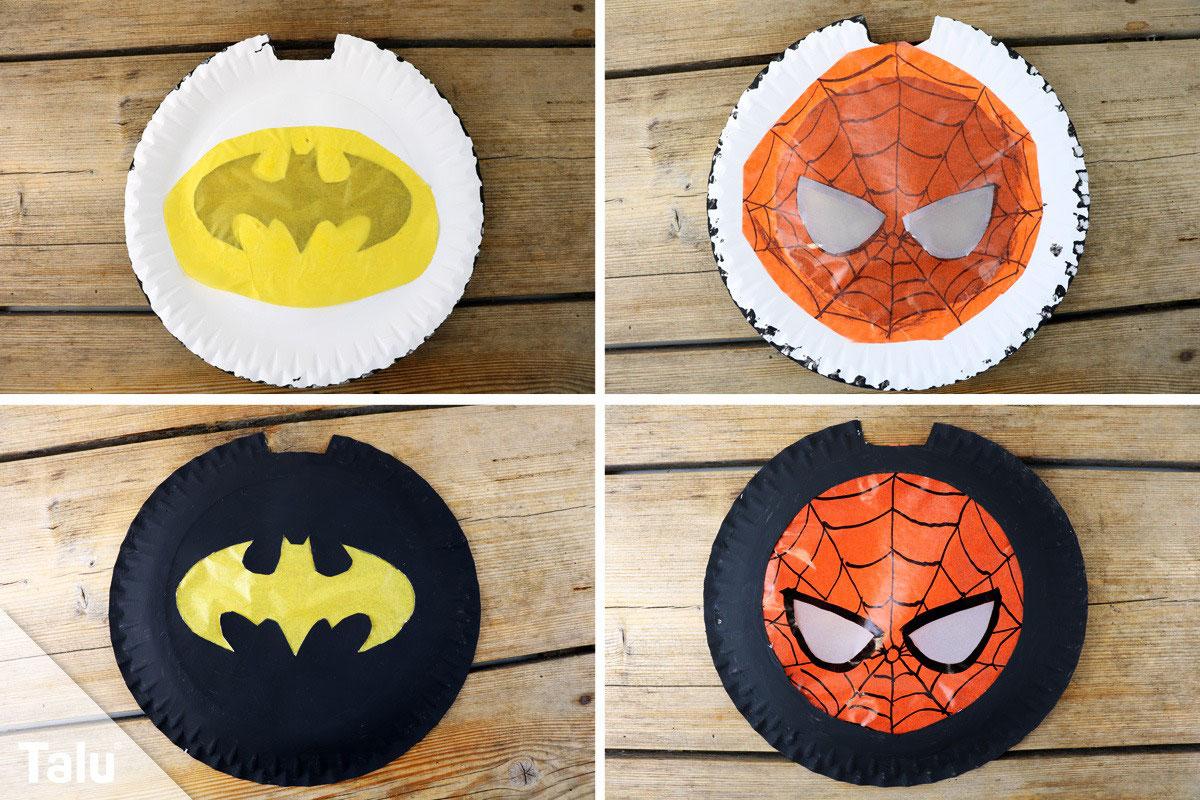Superhelden Laterne Basteln Mit Kids Ct Creativ Bunte Feste