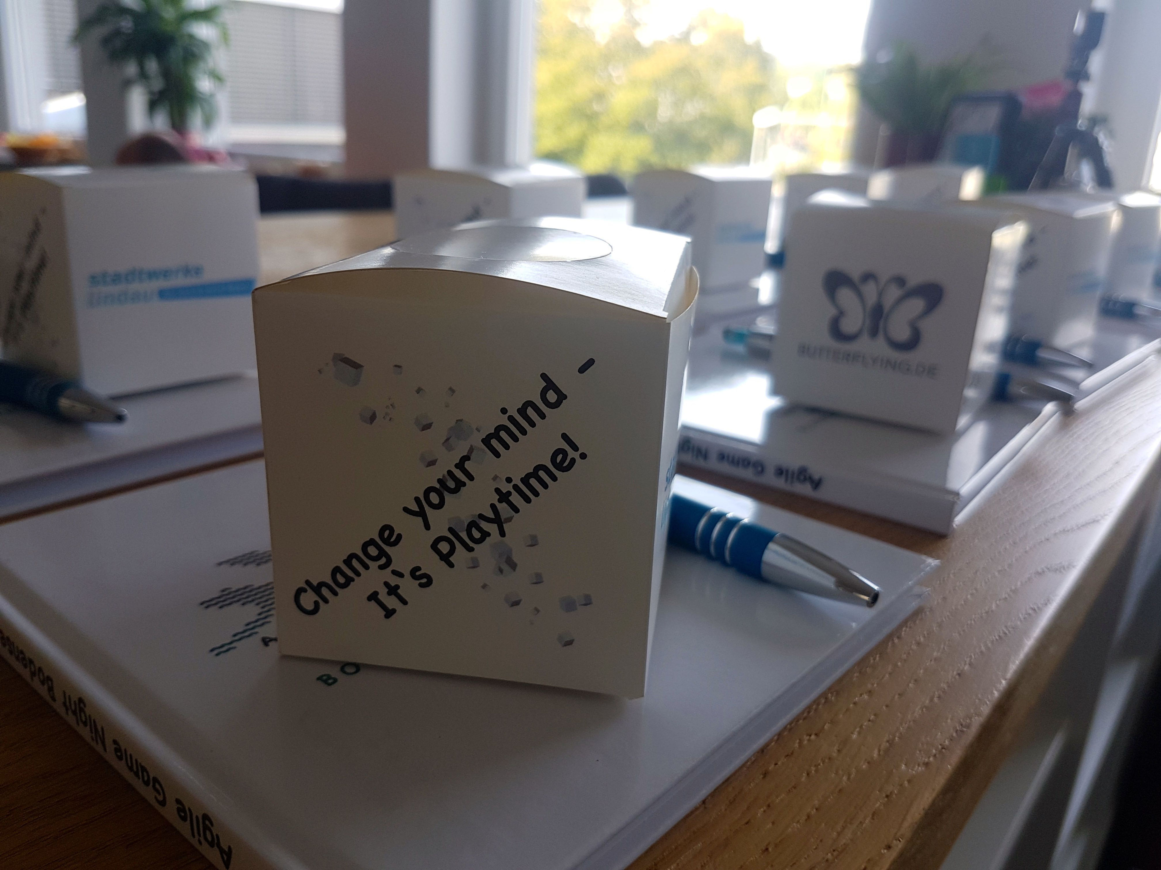 Agile Spiele 1. agile game night bodensee: change your mind - it's