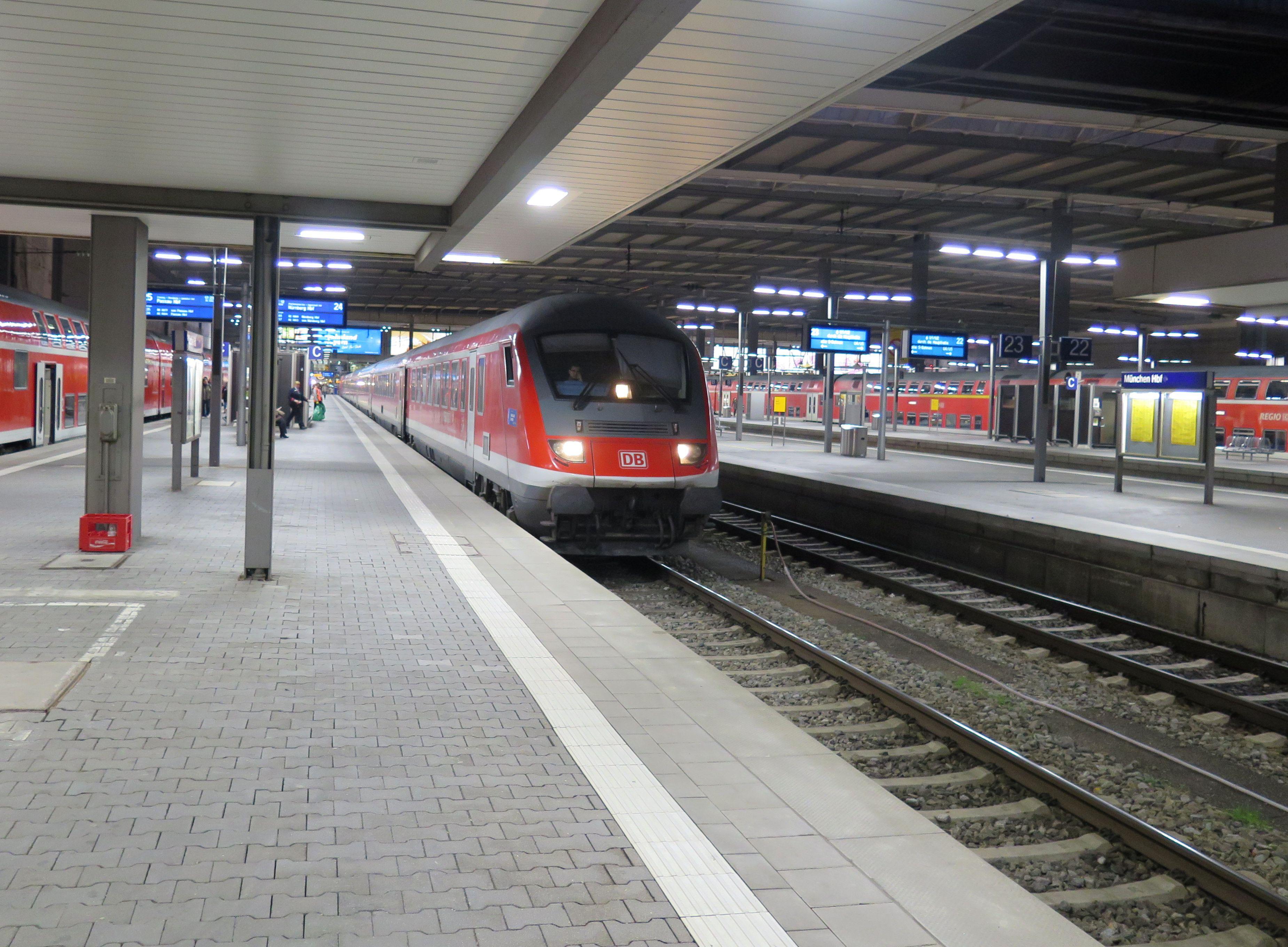 Komfortabel Und Verlässlich Mit Der Bahn Nach München Zum