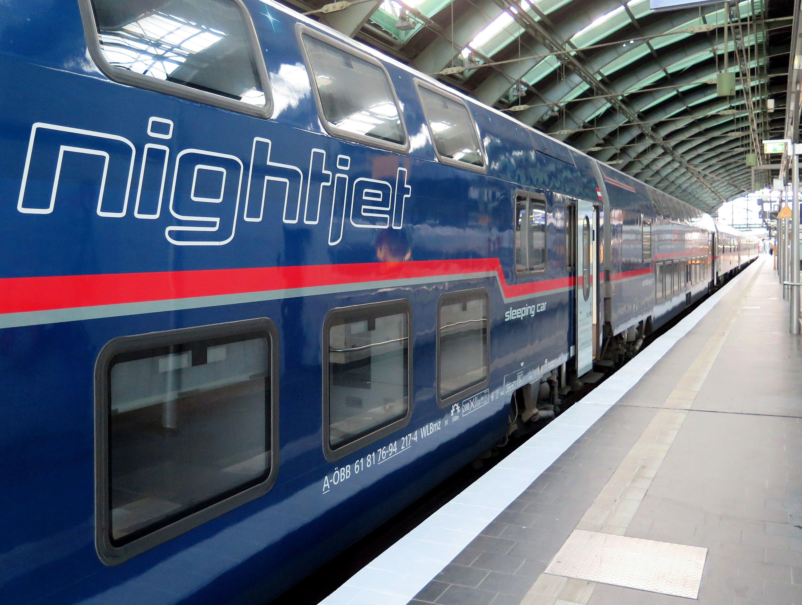 Erfreuliche Fahrgastzahlen Für Den öbb Nightjet Info24bahnnews