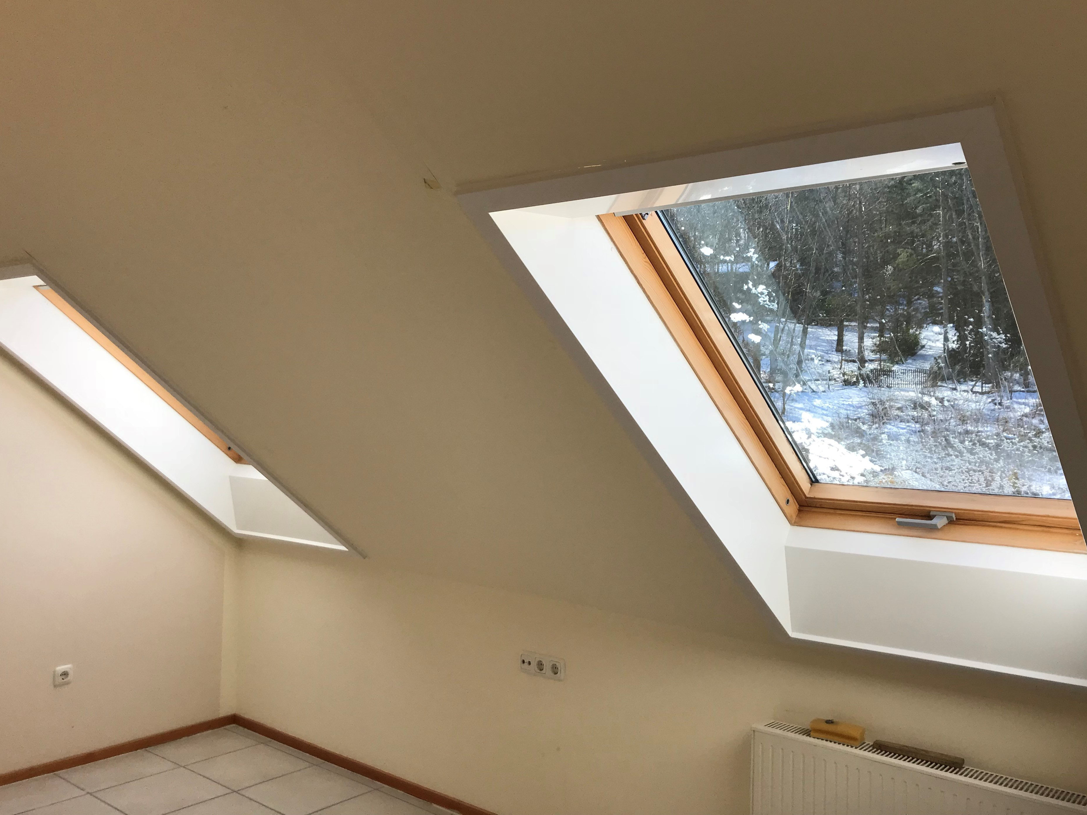 Gut bekannt Dachfenster-Sanierung mit VELUX Innenfutter - Ewald Sahm GmbH KY91