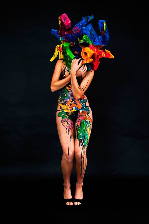 undefined   Body painting, Body art, Abstract painting