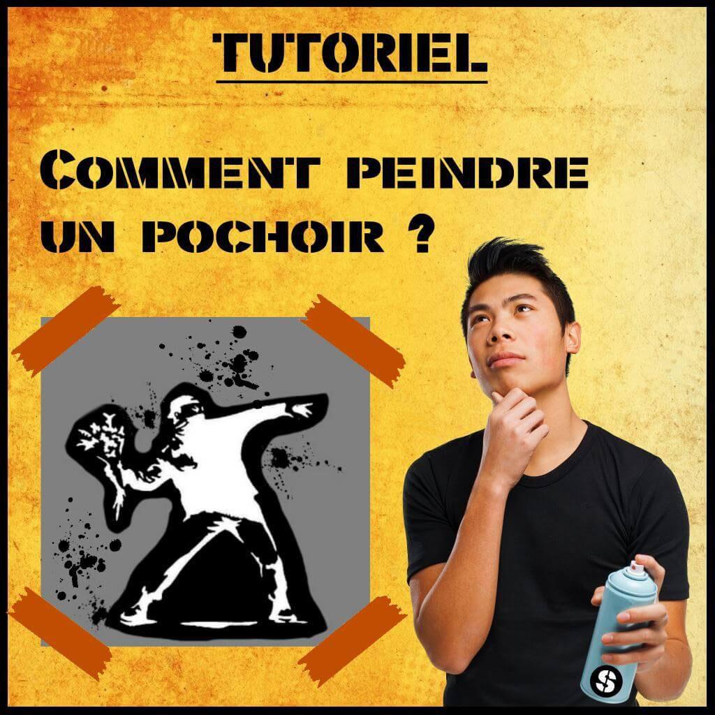 Faire Ses Pochoirs Soi Meme comment peindre au pochoir ? tutoriel (bombe peinture