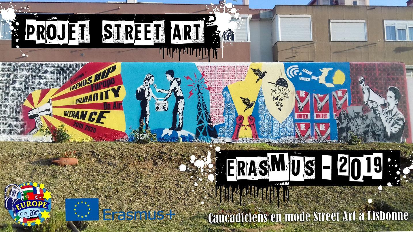 Art Plus Cadre Vitrolles street art et erasmus : l'art au service du partage et de la