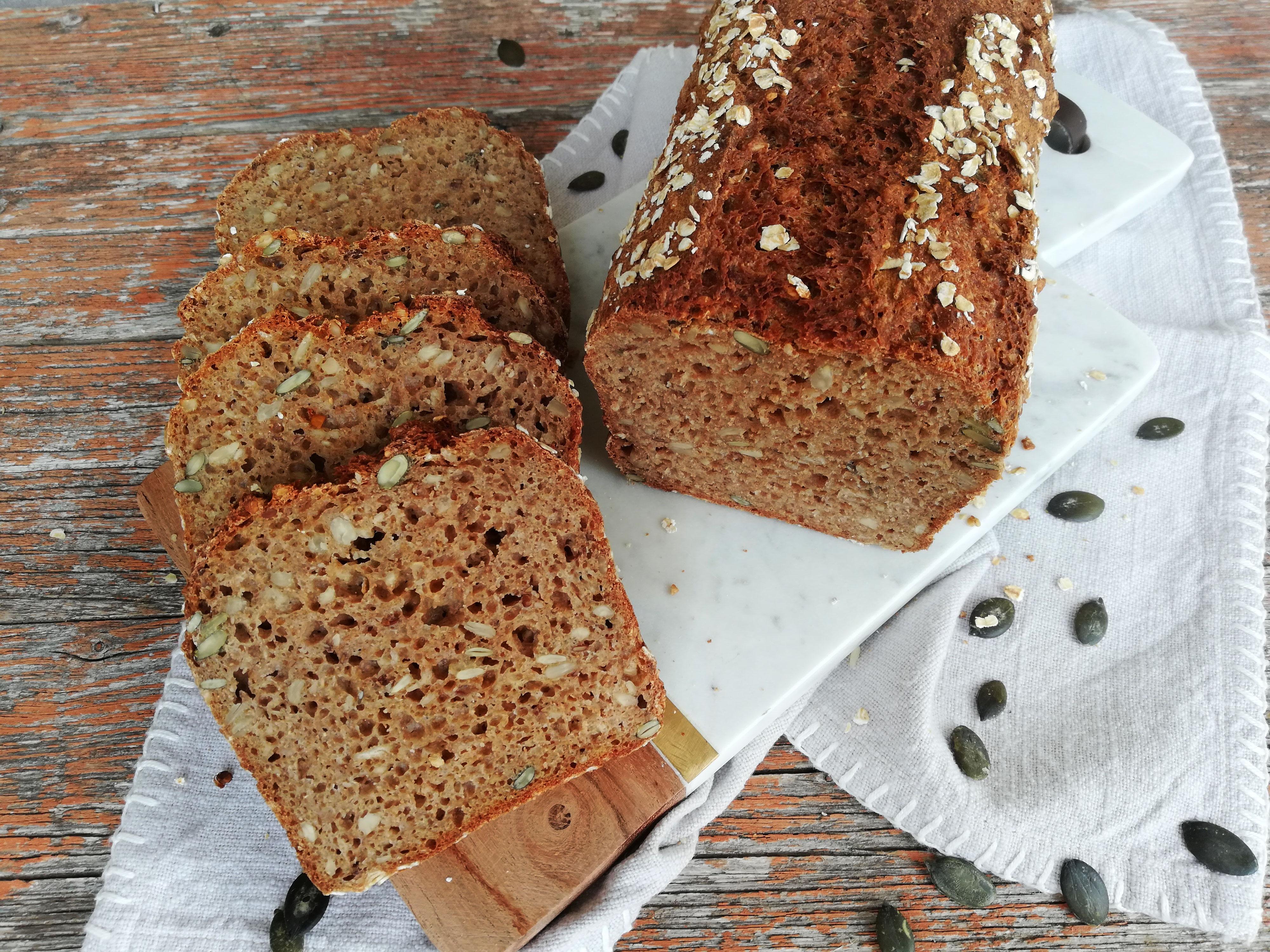 Dinkel Korn Brot   LelaLecker die Küchenfee aus Hohenlohe