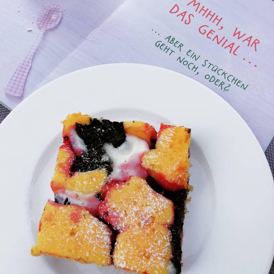 Rote Grutze Mohn Quark Kuchen Lelalecker Die Kuchenfee Aus