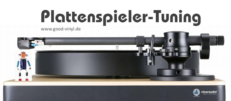 Plattenspieler Tuning Alfreds Good Vinyl Homepage Schallplatten