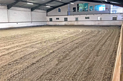 Häufig Neuer Hallenboden - RSG Eddersheim a.M. g.V. - Pferdesport CT53
