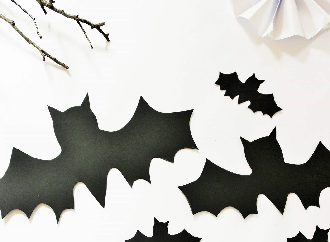 Diy Halloween Fledermaus Deko Fur Die Wohnung Partystories Blog