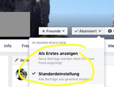 Facebook Algorithmus Freunde