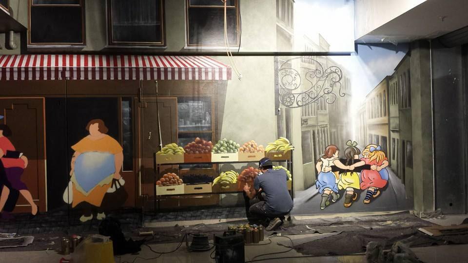 Fassadenmaler wandmalerei berlin appolloart graffiti - Wandmalerei berlin ...