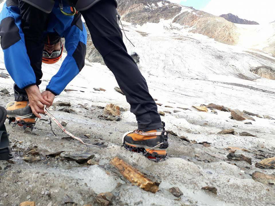 Klettergurt Für Gletscher : Richtiges verhalten am gletscher gipfelstürmer blog