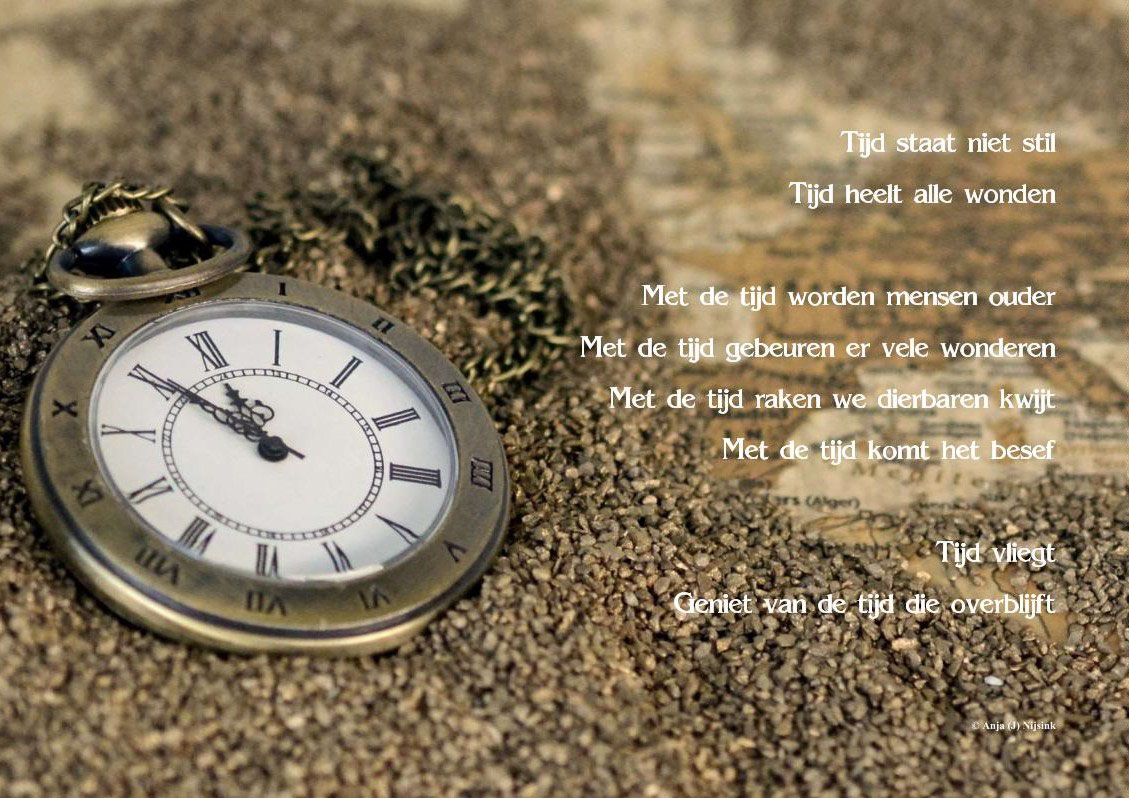 Gedicht Over Tijd Bijzondere Gedichten En Citaten