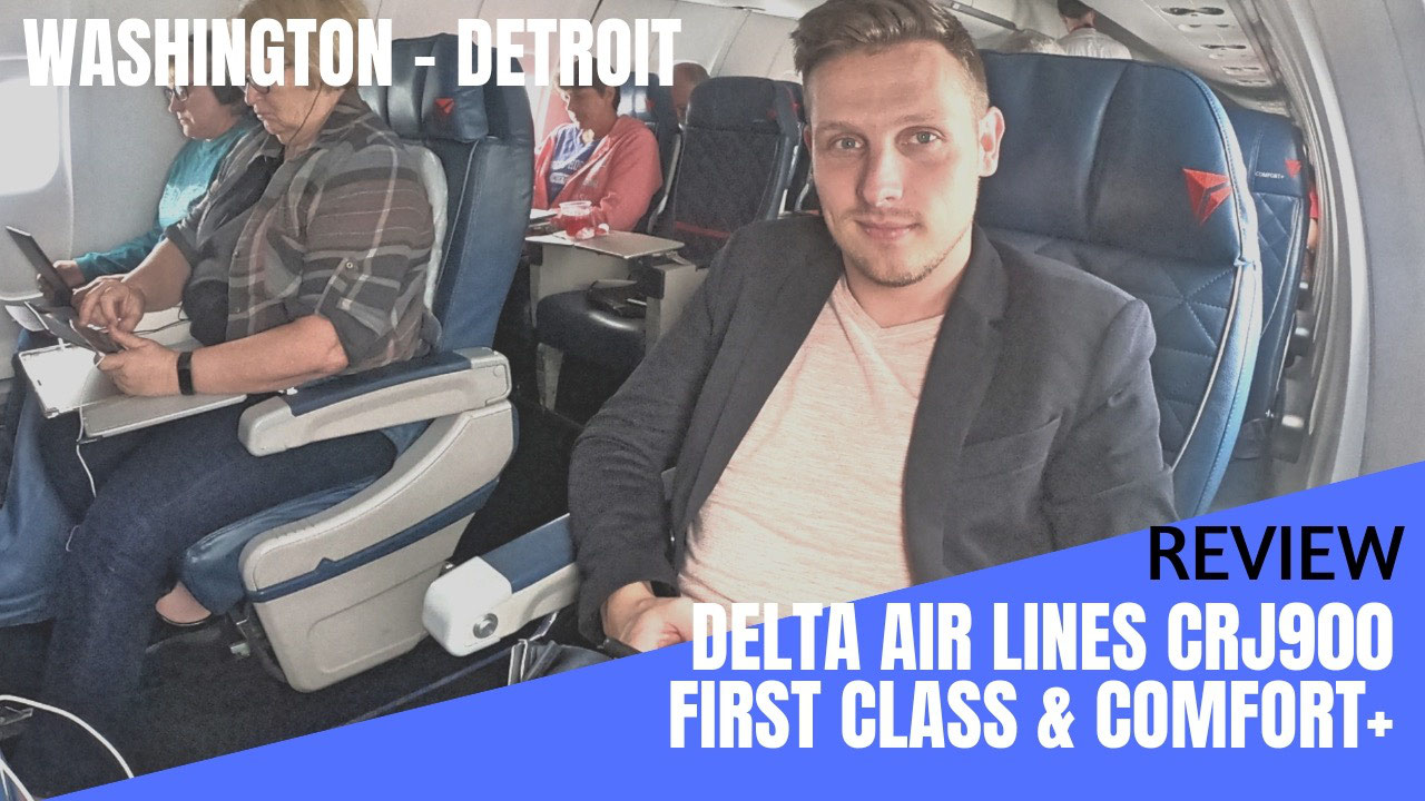 Review Delta Air Lines Crj900 First Class And Comfort