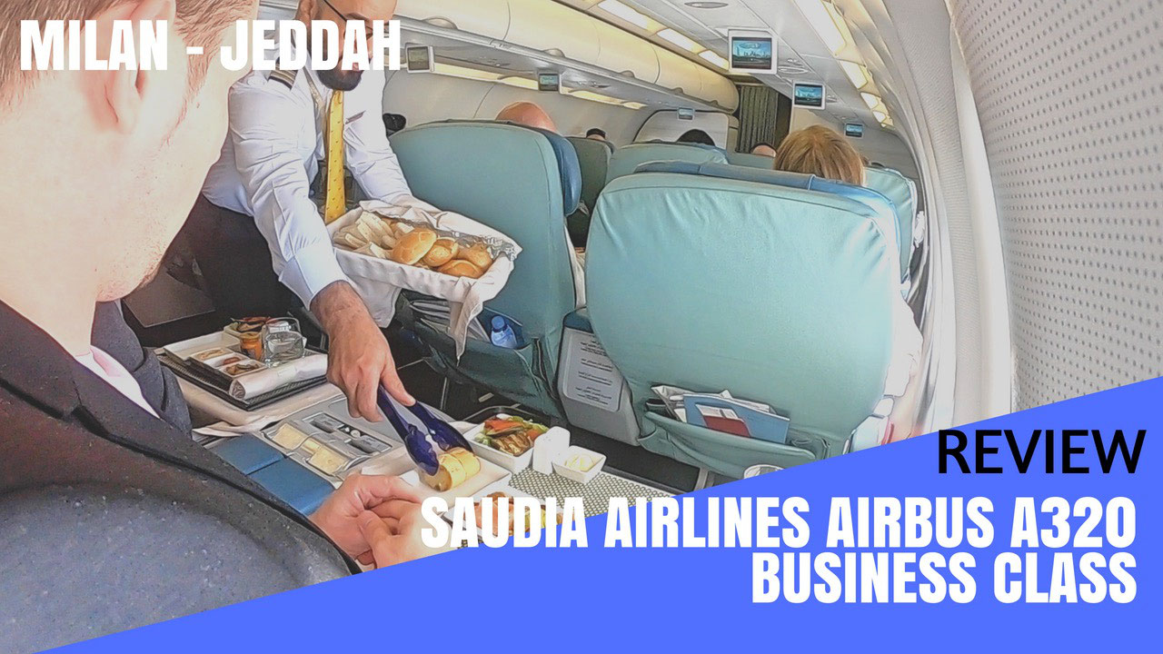 Review Saudia Saudi Arabian Airlines A320 Business Cl To Jeddah