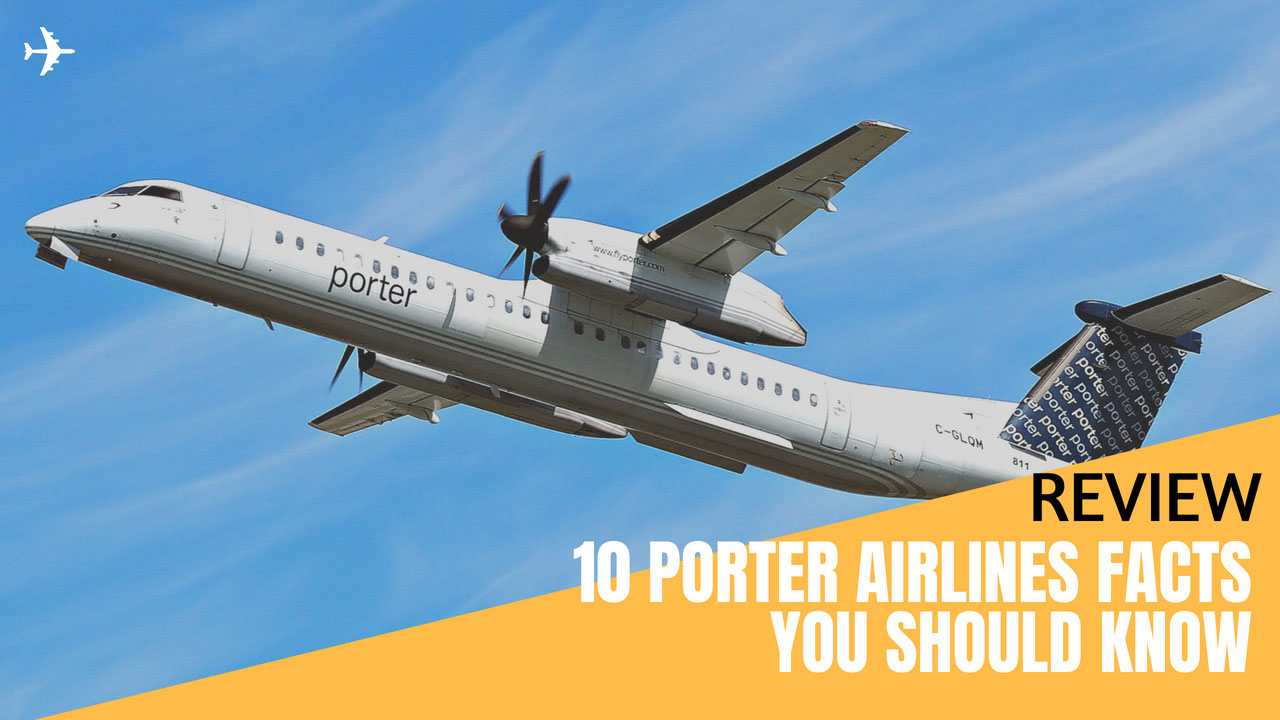 Review 10 porter airlines facts you should know gotravelyourway the airline blog - Porter airlines book flights ...