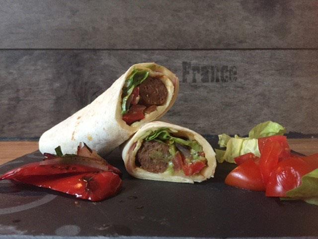 merguez wrap mit guacamole l fertig in 15 minuten low carb foodblog. Black Bedroom Furniture Sets. Home Design Ideas